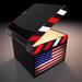 Stock Cube 03, Flag Cube 1